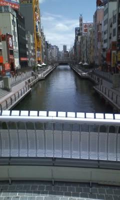 すっかり綺麗になった戎橋
